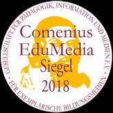Comenius EduMedia Siegel für 2018