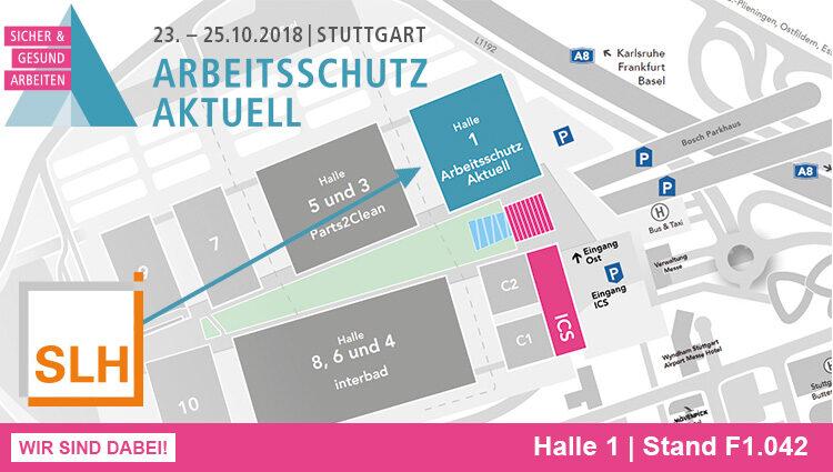 Messe: Arbeitsschutz aktuell 2018 in Stuttgart