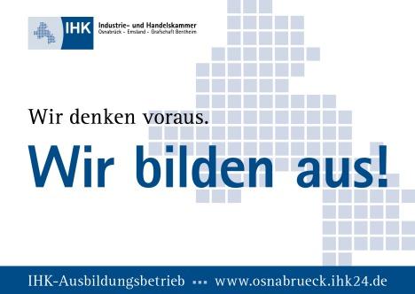 Ausbildung zusammen mit IHK und SLH GBMH - Wir bilden aus