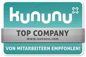 Kununu - Top Company - Von Mitarbeitern empfohlen