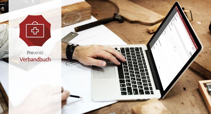 Verbandbuch Software - Dokumentieren nach der DGUV Vorschrift