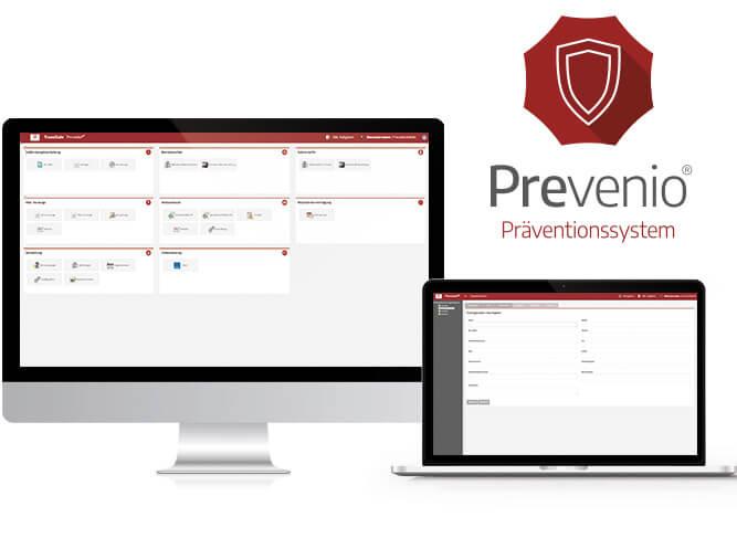 Gefährdungsbeurteilung, Arbeitssicherheit und betriebliche Prävention mit Prevenio®